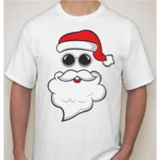 Футболка мужская Дед Мороз в очках
