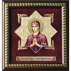 Мини-панно Богородица Семистрельная