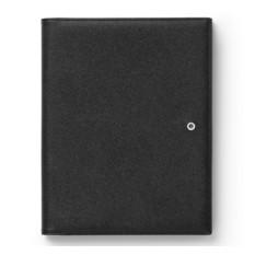 Кожаная черная папка Graf von Faber-Castell A5