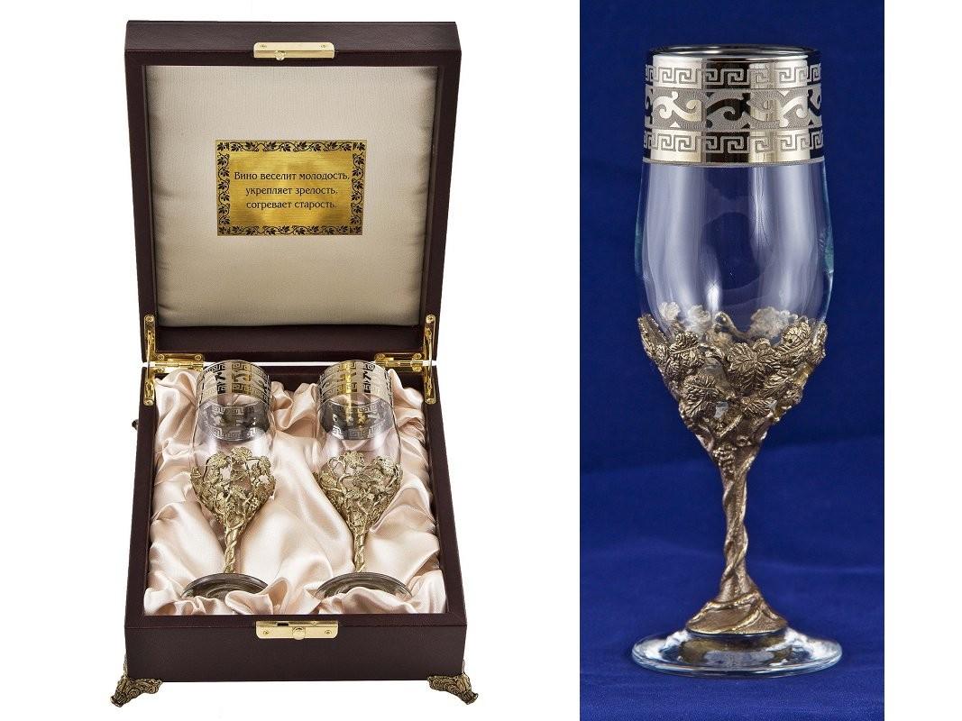 Набор бокалов для шампанского Версаче