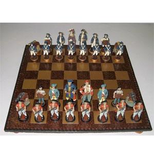 Шахматы «Пираты и Британцы»