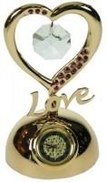 Декоративная фигурка с часами С любовью