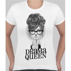 Женская футболка Drama queen