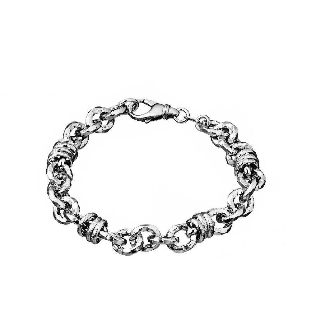 Оигинальный браслет из серебра