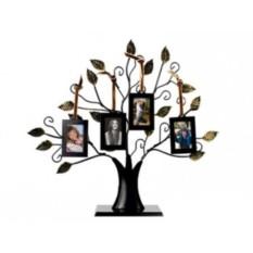 Рамка на 4 фотографии Генеалогическое дерево. Моя семья»