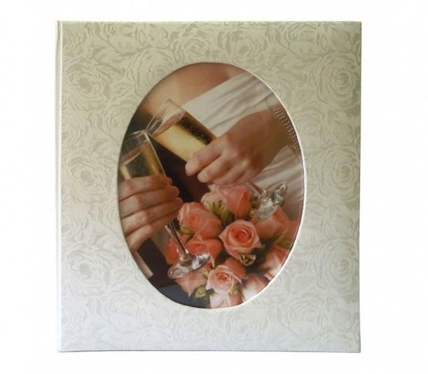 Фотоальбом на 23х28 50 листов Свадьба, магнитный