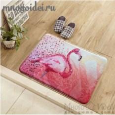 Антискользящий коврик Фламинго