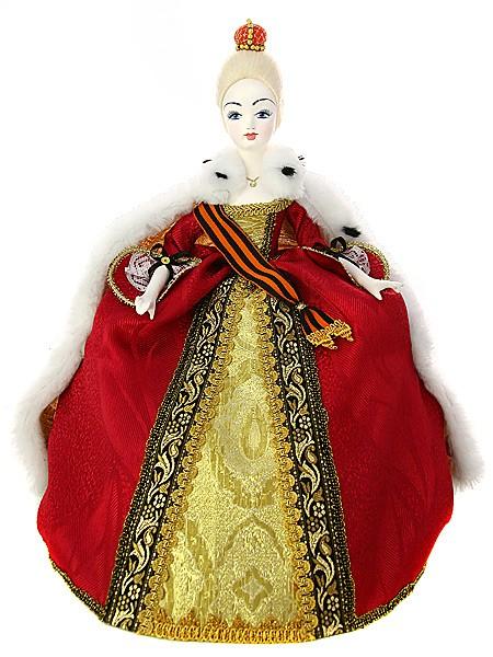 Кукла на чайник Императрица
