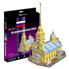 3D пазл Cubic Fun Петропавловский Собор (Россия)