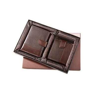 Набор ALVARO:  кошелек и футляр для визиток