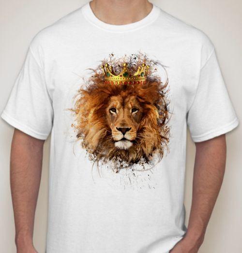 Футболка Лев в короне
