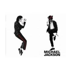 Обложка на паспорт Майкл Джексон (ч/б)