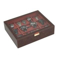 Шкатулка с окошком для хранения часов LC Designs Co