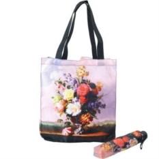 Подарочный набор Букет: сумка и складной зонт