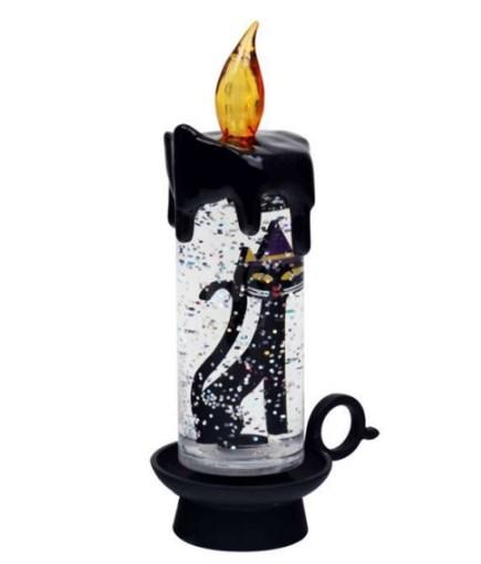 Usb-светодиодная свеча Черная кошка