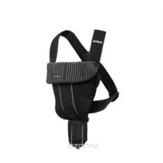 Черный рюкзак-кенгуру BabyBjorn Original