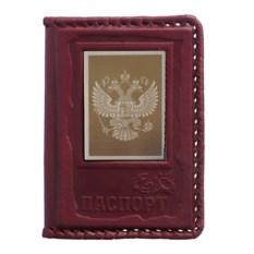 Обложка для паспорта из кожи «Орел»