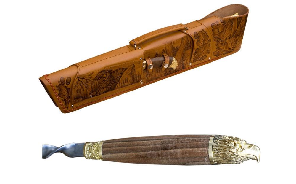 Подарочная шампурница «Ружье»