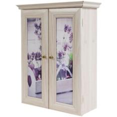 Декоративный настенный шкафчик Лаванда