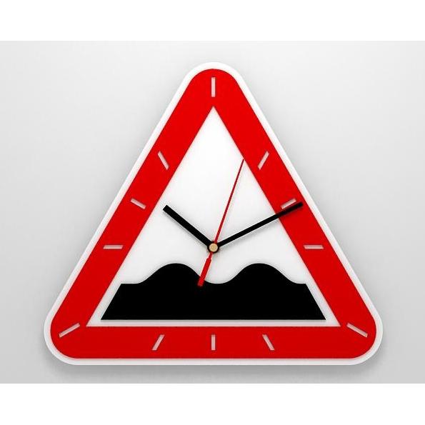 Часы со знаком «Неровная дорога»