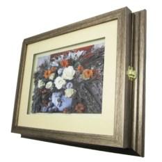 Ключница объемная Букет цветов