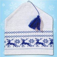 Новогодняя шапочка «Петушок»