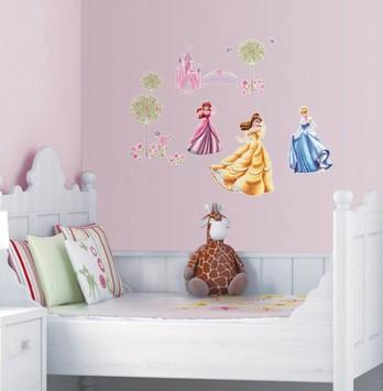 Набор интерьерных стикеров Диснеевские принцессы
