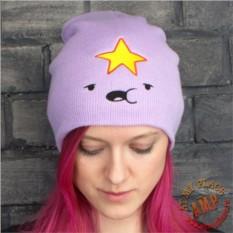 Сиреневая шапка Принцесса Пупырка