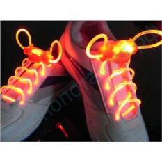 Светящиеся оранжевые LED шнурки