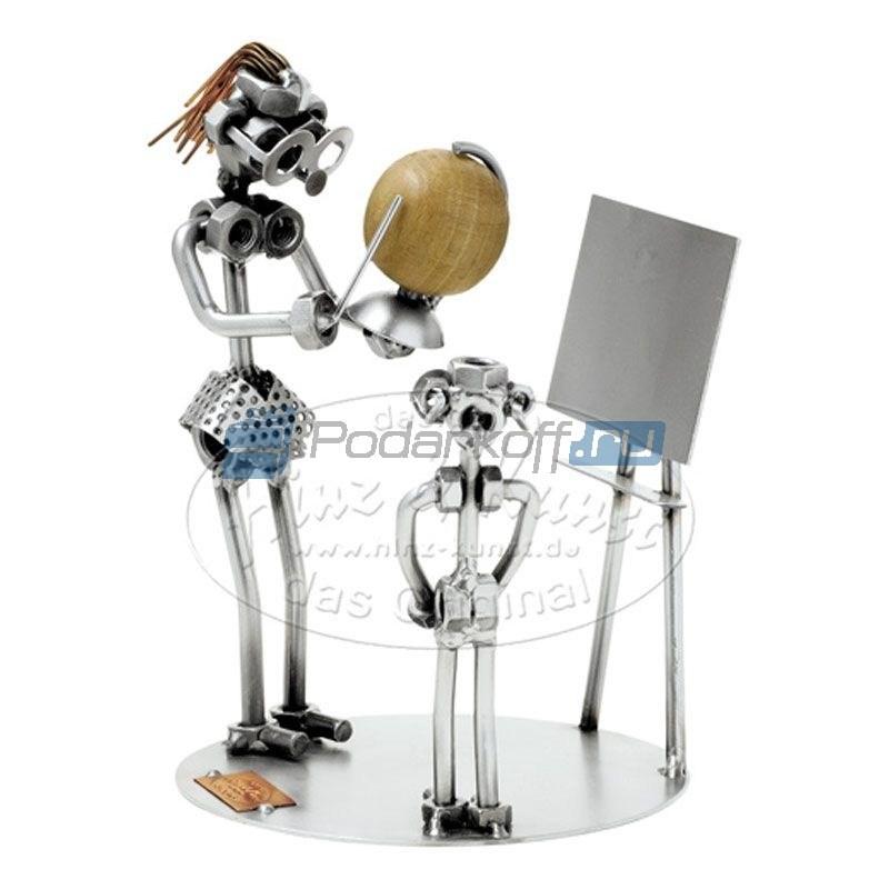 Статуэтка из металла Учительница