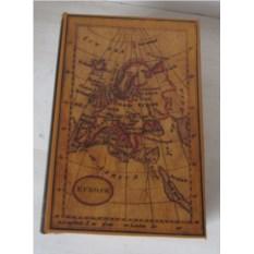 Шкатулка-фолиант Карта путешественника