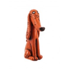 Декоративная фигурка Рыжая собака