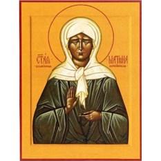 Икона на доске Матрона Московская