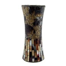 Стеклянная ваза Мозаика