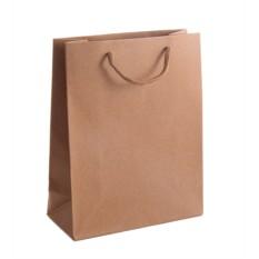 Подарочный паует из крафт бумаги