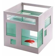 Аквариум «Отель для рыбки» (белый)