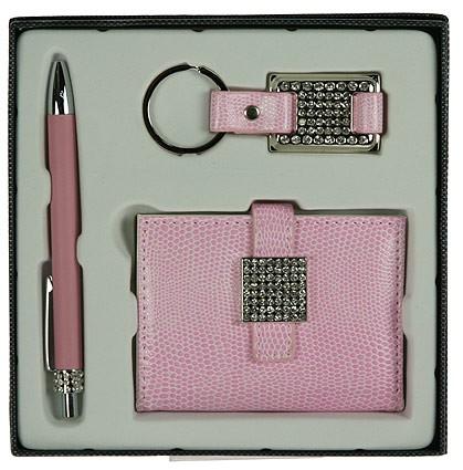 Подарочный набор, розовый