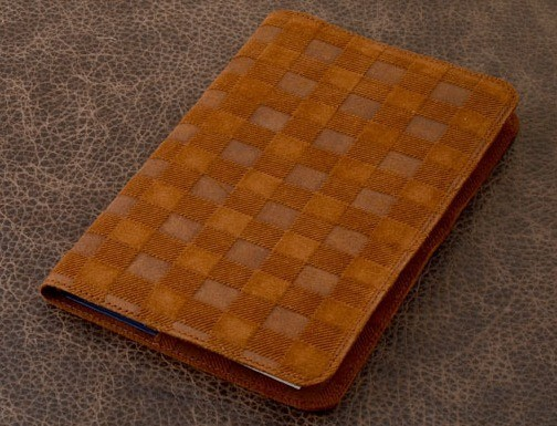 Ежедневник Vignette (рыжий, квадрат; нат. кожа)