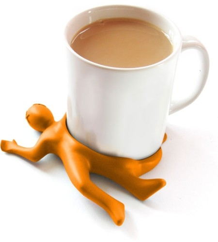 Подставка под чашку Человек