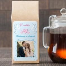 Чёрный чай Голубки