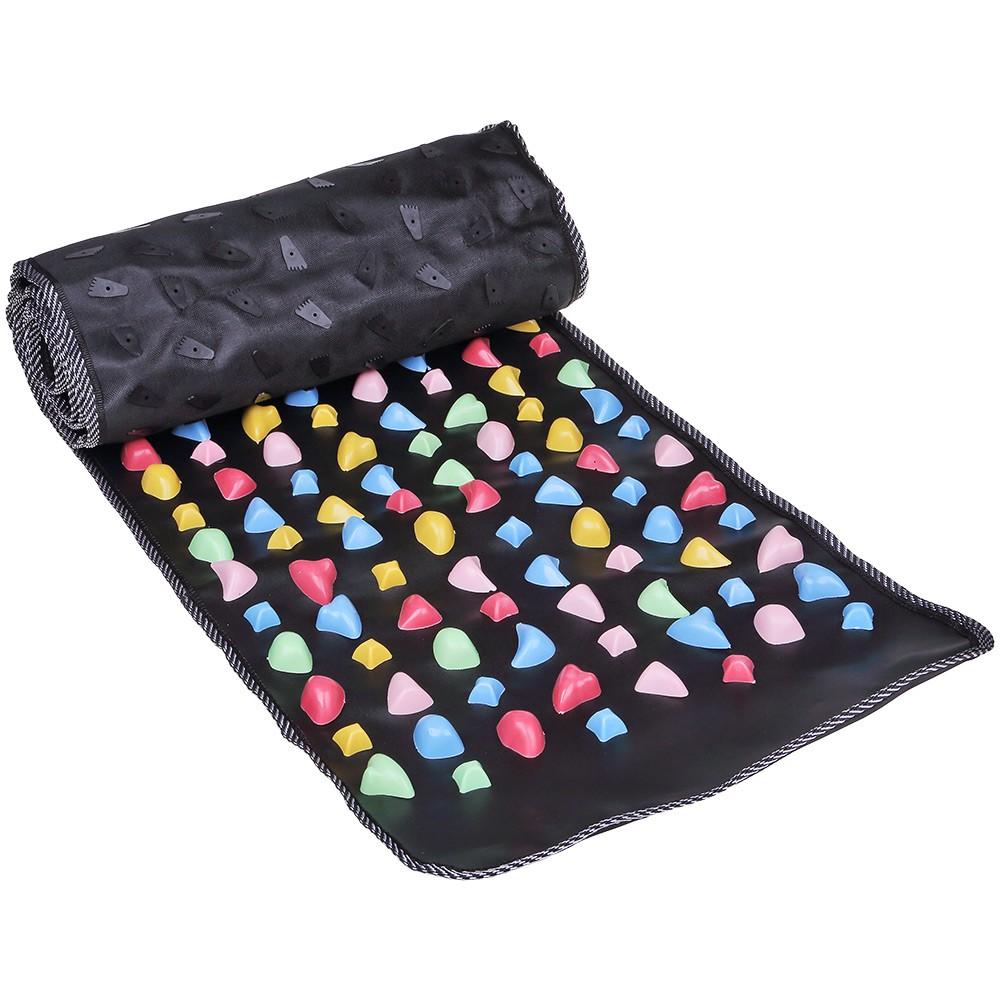 Ортопедический массажный коврик «Цветные камешки»