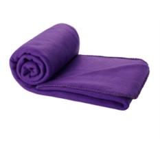 Фиолетовый плед в чехле Comely