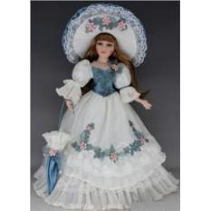 Коллекционная кукла Шанталь, фарфор