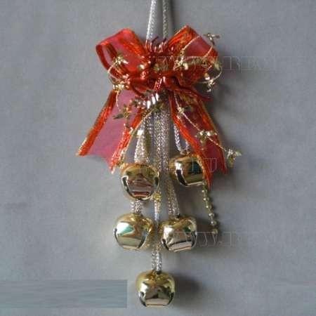 Новогоднее украшение Бубенчики