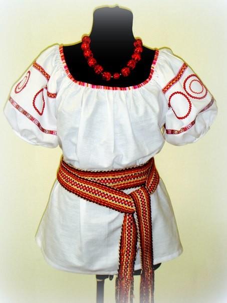 Женская блузка (без пояса)