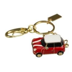 Флешка Автомобиль Мини Купер красный с белой крышей