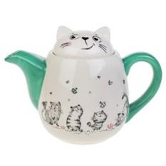 Заварочный чайник Смешные котики