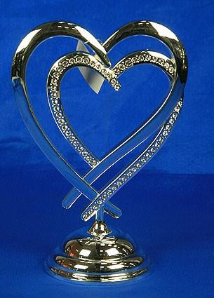 Фигурка декоративная Два сердца