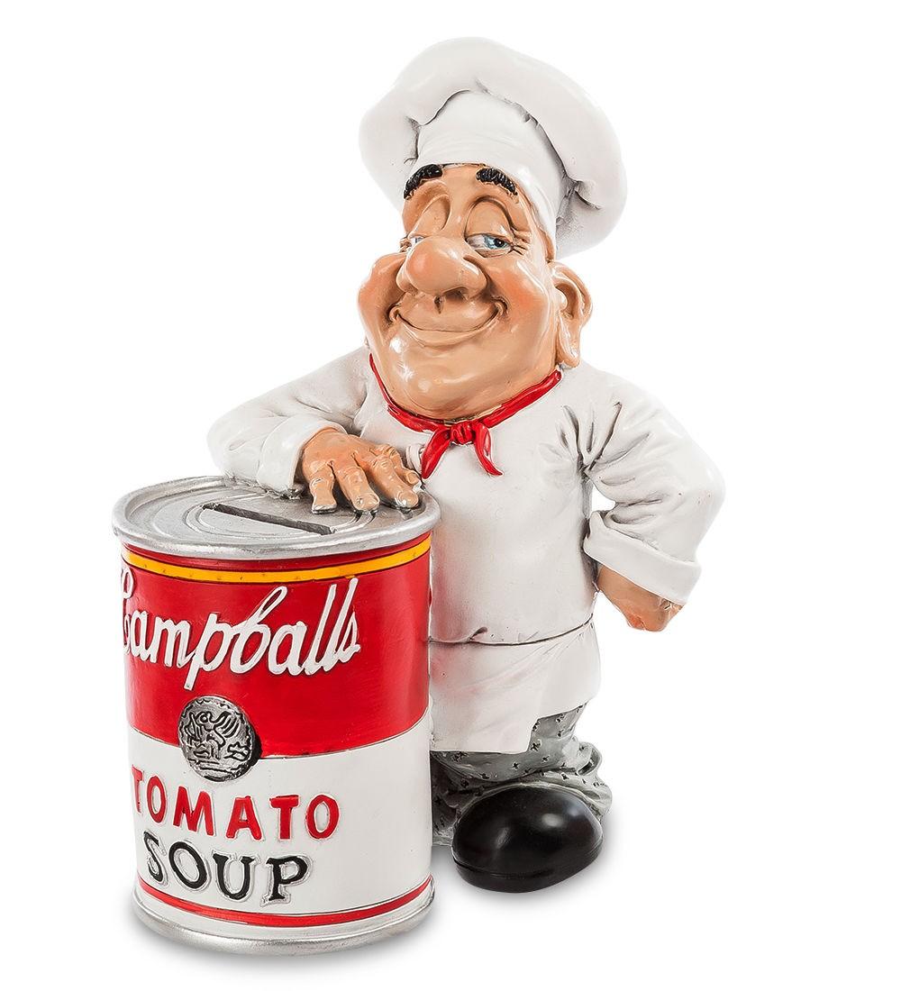 Статуэтка-копилка Томатный суп, 20 см.
