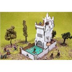 Башня для бросков кубиков «Белый замок»